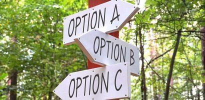opção de negócio