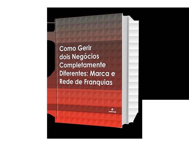 eBook: Como Gerir 2 Negócios Completamente Diferentes: Marca e Rede de Franquias
