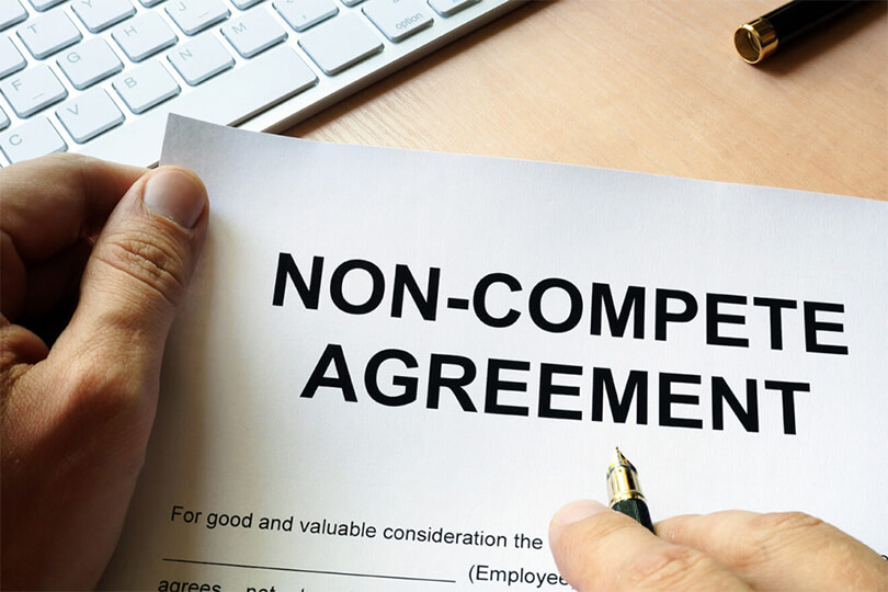 cláusula de não concorrência