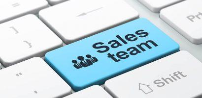 equipe de vendas